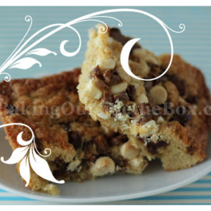 Cake Mix Blondies Butterscotch