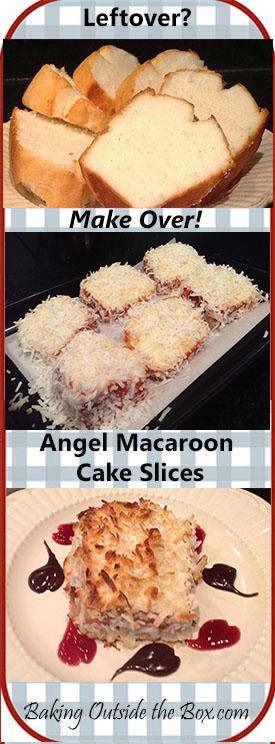 Leftover Angel Food Cake