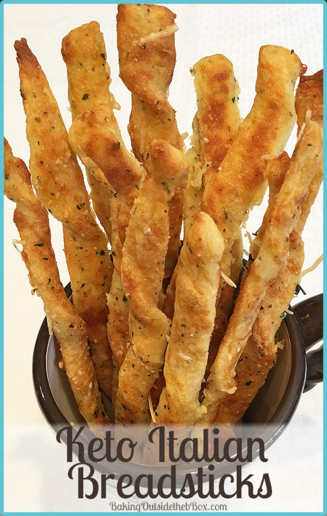 Keto Italian Breadsticks Creating Baking Outside The Box