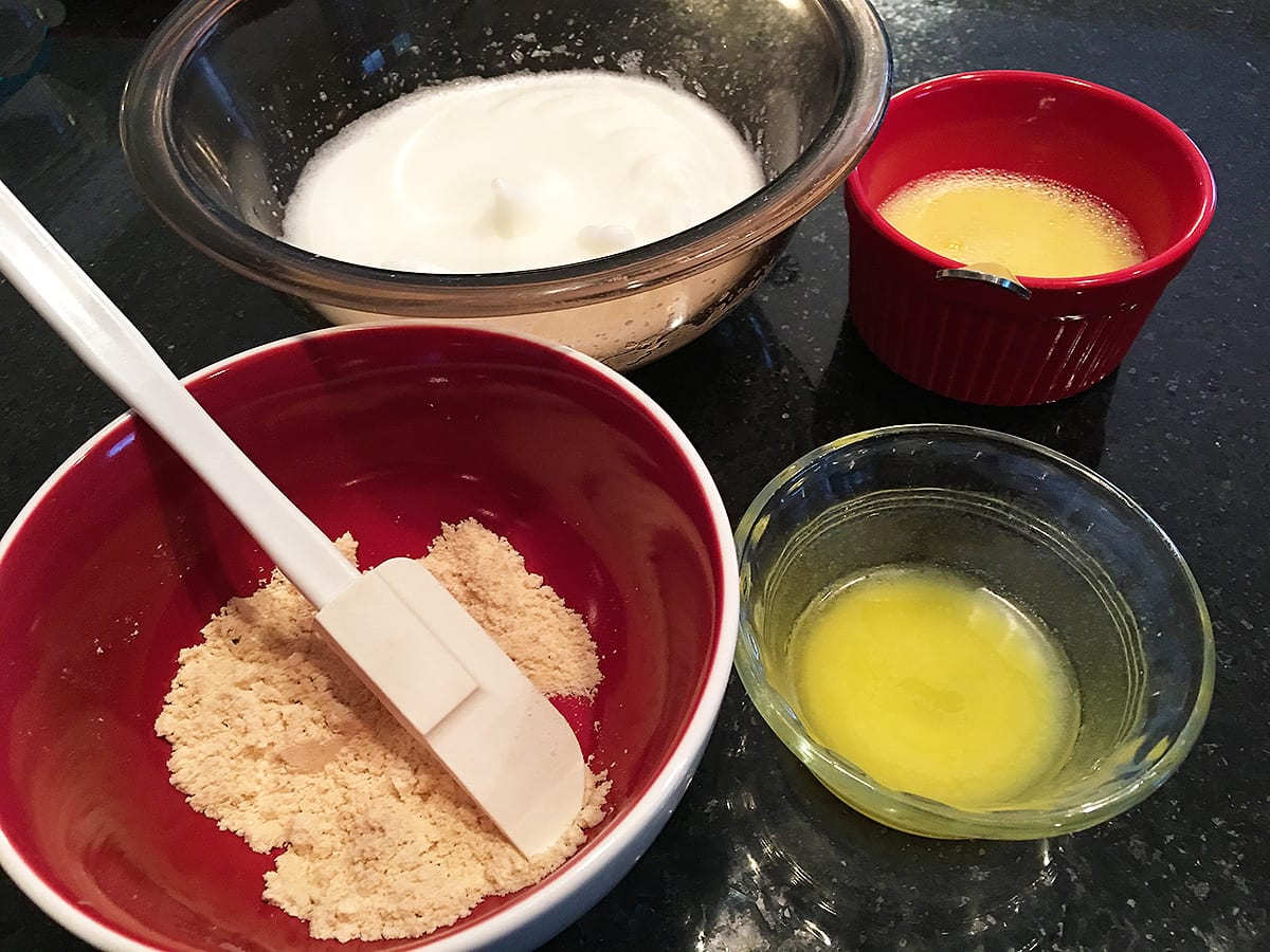 Ingredients for Low Carb Sandwich Bread