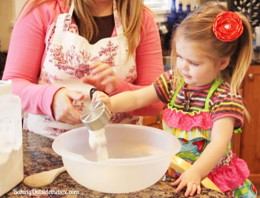 Baking with kids can be fun and challenging. here are a few savvy tips.