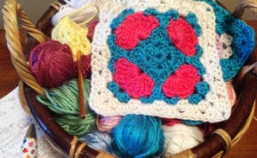 These cute granny square patterns are among the top 100 for 2015.