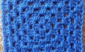 This Basic Granny Square Pattern is simple enough for beginners and bliss out time for experienced crocheters.