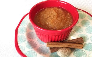 Simple Sugar Free Crock Pot Applesauce is beyond easy to make. It is full of flavor and sunshine. And you have the peace of mind of knowing what it contains: apples.