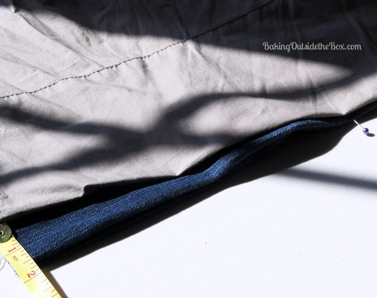 capri leg width