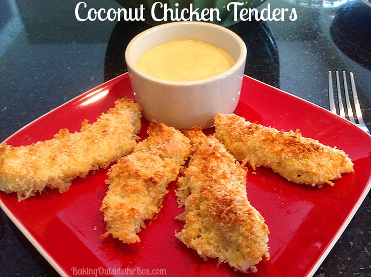 The Coconut Chicken Tenders recipe is a simple low carb down-home dish ...