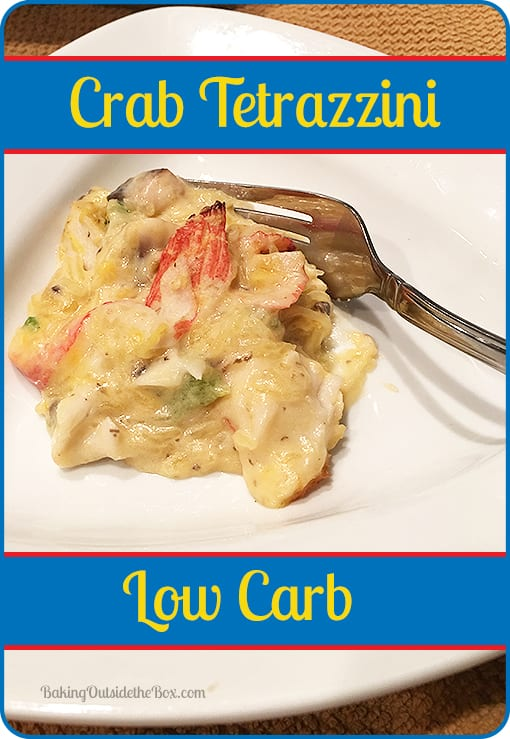 crab tetrazzini low carb baking outside the box. Black Bedroom Furniture Sets. Home Design Ideas