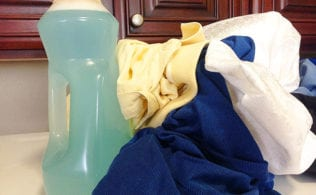#bakingoutsidethebox | Here a the two best DIY laundry detergent recipes I have ever used. They are thrifty and effective. I use one of them daily. Find out how to make a batch that is just the right size for your family.
