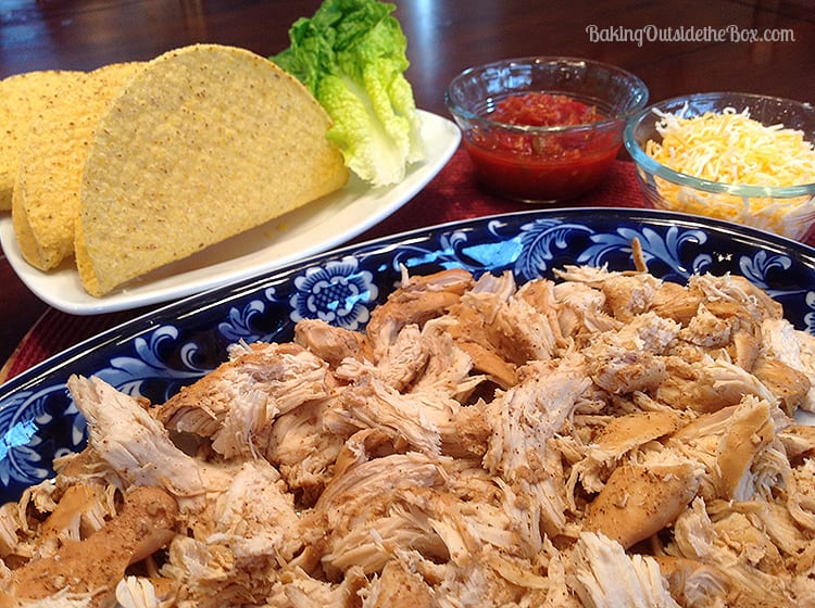 This spicy Fresh-Mex Chicken makes wonderful shredded chicken for salads and tacos.