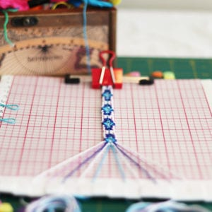 Get the easy to make DIY Friendship Bracelet Board Loom instructions. This board is gentle on thread strands and helps you keep track of the pattern. Bracelet making becomes a pleasure. For adults and children.