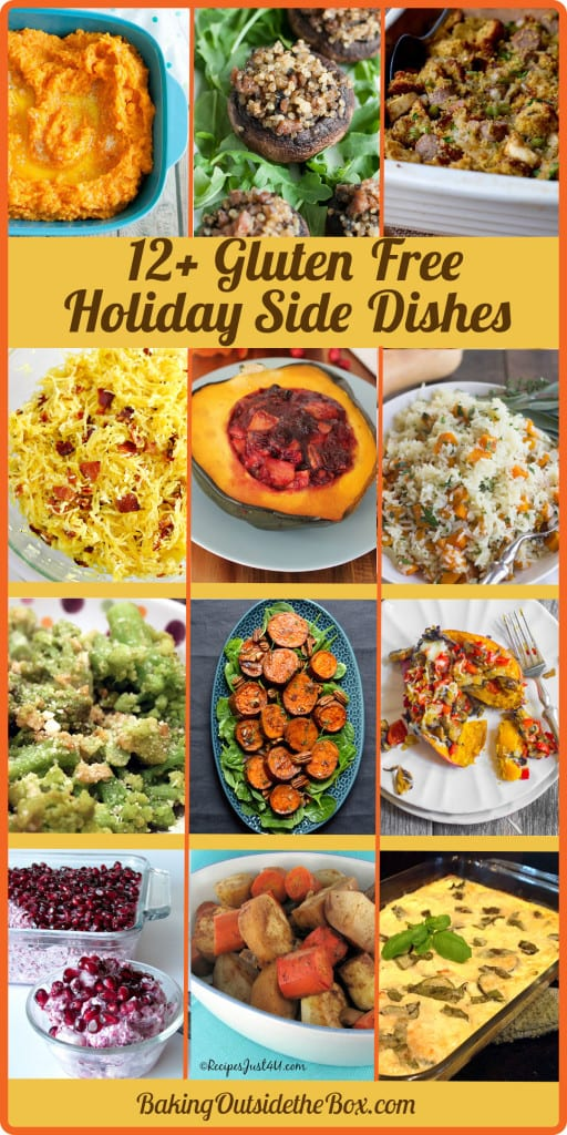 Great round-up of more than a dozen gluten free holiday side dishes, that are certain to make your table more merry this season.