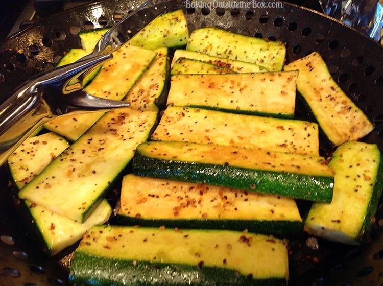 grill zukes