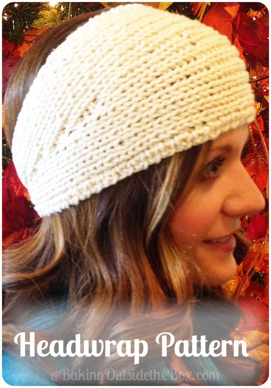 Easy Knitted Headwrap Pattern Baking Outside The Box