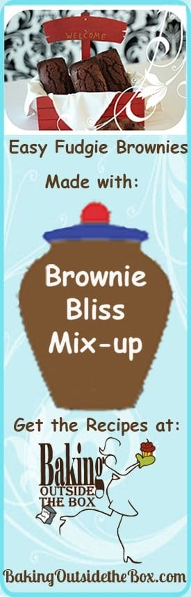 Brownie bliss Mix- up recipe