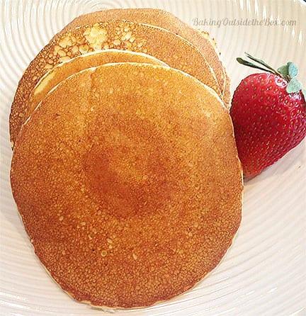 Ricotta Almond Flour Pound Cake