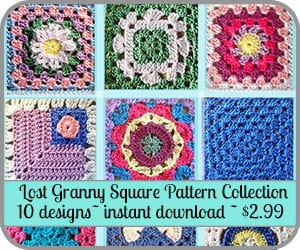 Lost Granny Square pattern offer.