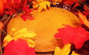 Easy & crustless low carb pumpkin pie recipe