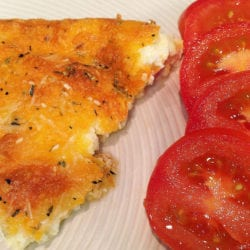 This Low Carb Quick Quiche is an savory & satisfying recipe to use eggs for lunch or dinner. It's a low carb bargain at just 3.7 gms of carbohydrates a slice.