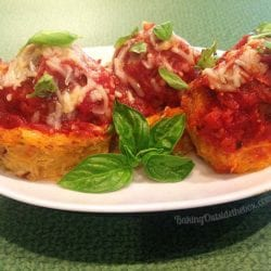 These Nested Meatballs are a comfort food for those who long for spaghetti and meatballs on a low carb regimen. Makes a great appetizer or light lunch.