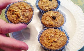 Diet Plateau Crushing Muffins are easy & can be on the breakfast in about 30 minutes. - Delicious & filling. Make a small batch for just you!