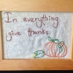 Get the pattern download I'm sharing for this cute Thanksgiving stitchery in two versions. So easy you'll whip up one for yourself and one for a friend.