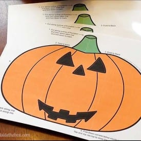 Download this easy to make folded Jack-o-lantern Envelope Printable. The short tutorial video makes it simple and fun. Happy Halloween!