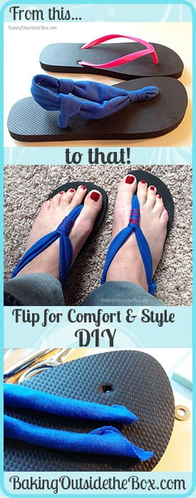 eb7b740b4d3d10 I never imagined that a pair of .99 cent flip-flops would soon become