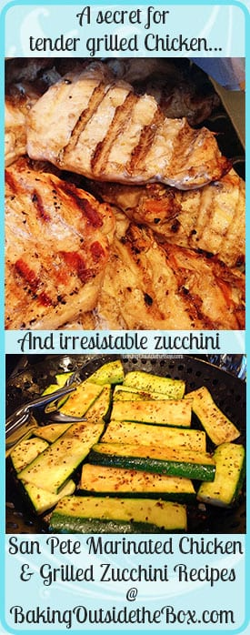 San Pete Marinated chicken is low carb and a quick and easy way to dress up grilled chicken.