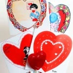 Simple to make Valentine Spinners. Fun way to show children how animation works. Can use a lollipop, pencil, straw etc for the stick.