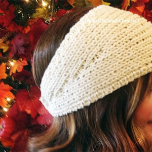 Easy knitted Headwrap pattern